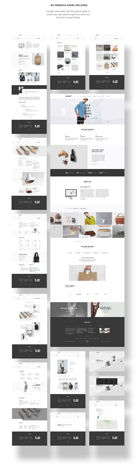 themes wordpress html5 concept wordpress theme html5 template themeforest on