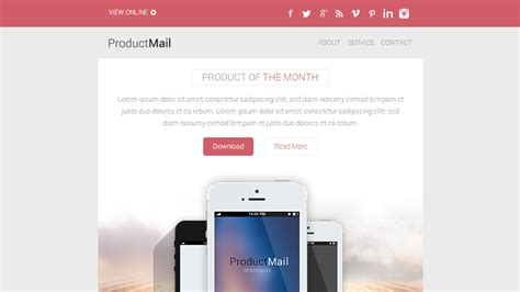 yahoo ecommerce templates top 50 email marketing newsletter templates mobile