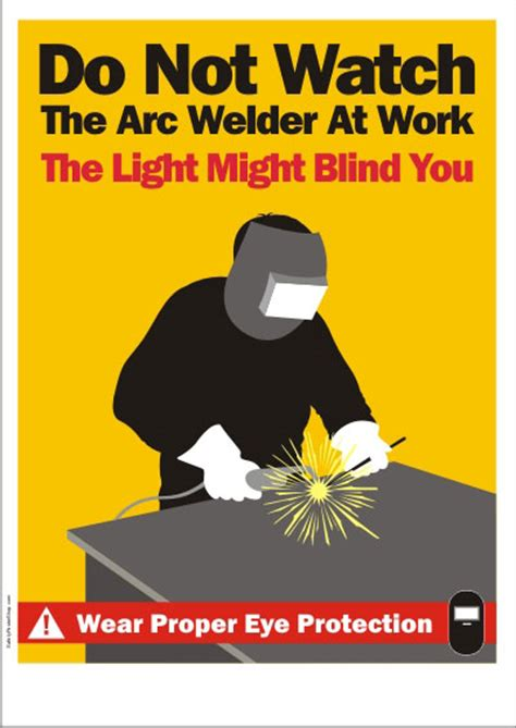 welding safety posters safety poster shop
