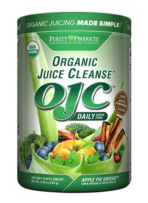 Organic Detox Cleanse by Certified Organic Juice Cleanse Ojc Apple Pie Greens