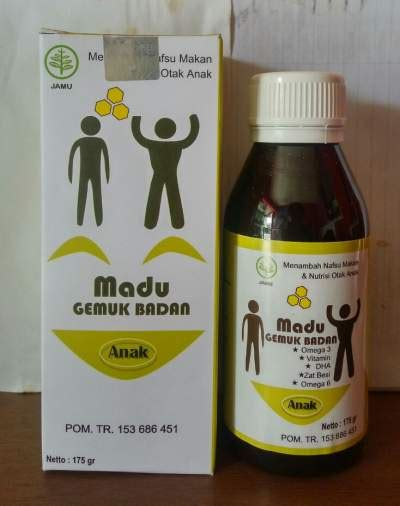 Obat Herbal Madu Gemuk madu gemuk badan anak semarang toko obat herbal semarang