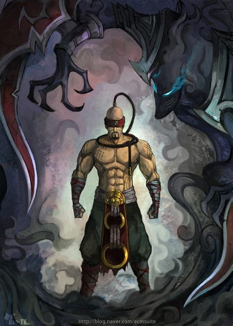lee sin league  legends wallpapers hd