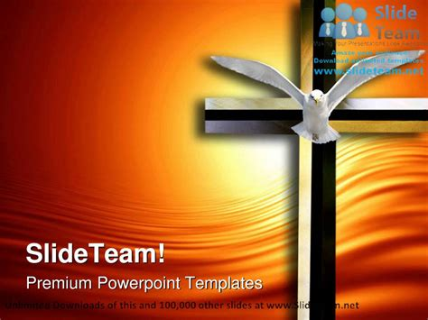 Holy Spirit Cross Religion Powerpoint Templates Themes And Backgrounds Ppt Designs Youtube Spiritual Powerpoint Templates