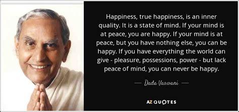 dada vaswani quote happiness true happiness