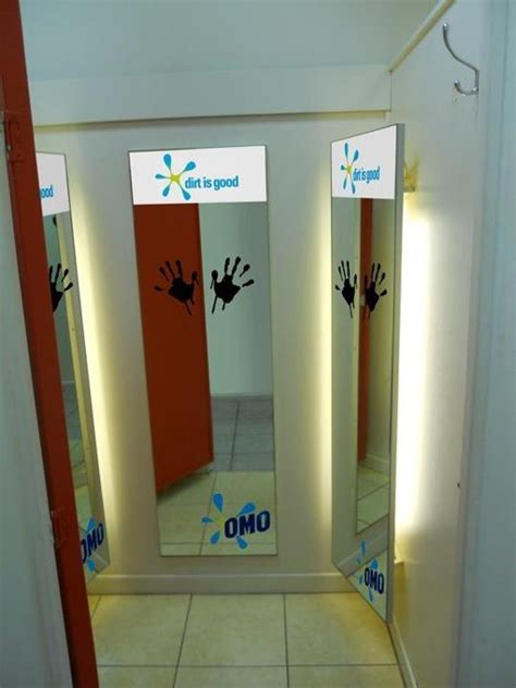 fitting room mirrors fitting room mirror decals for omo advertising design decals and mirror