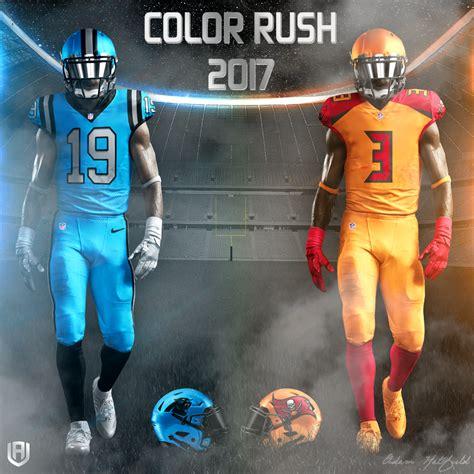 design adams   nfl color rush  touchdown europe