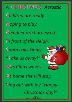 writing christmas poems  early childhood students  norah colvin