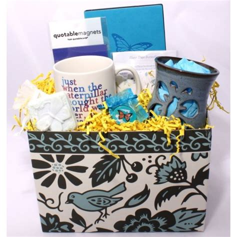 Sympathy Baskets by Butterfly Sympathy Basket Healing Baskets