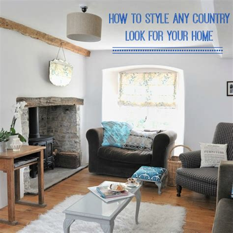 Different Design Styles Home Decor the country style more than english love chic living