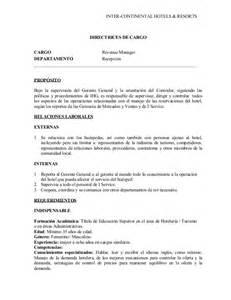 Cargo Revenue Management Revenue Manager Descripcion De Cargo