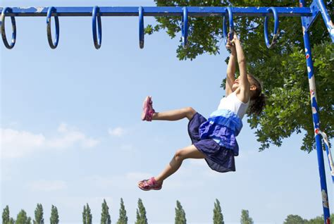 people falling off swings therapeutic benefits of playing at the park