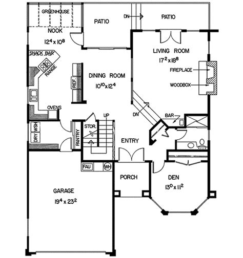 southwestern floor plans dana southwestern home plan 085d 0168 house plans and more