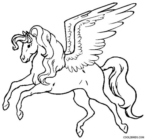 Printable Pegasus Coloring Pages For Kids Cool2bkids Colouring Page