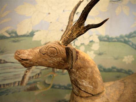 Liquid Folkdeer Large Antique Folk Deer For Sale At 1stdibs