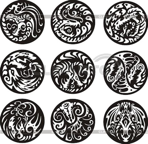 round tribal tattoo miscellaneous tattoos serie of high quality graphics