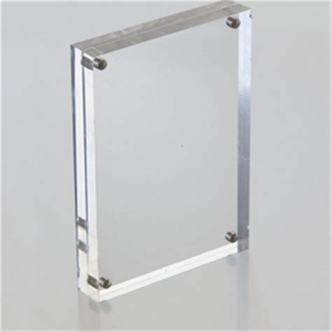 acrylic frameless picture frames buy bulk picture frames
