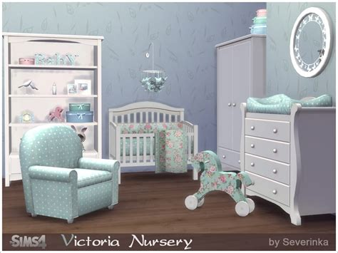 sims 4 nursery severinka s victoria nursery