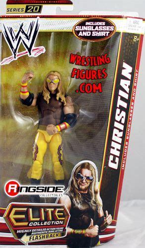 christian wwe elite  wwe toy wrestling action figure