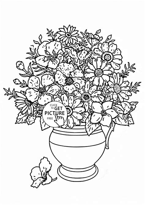 coloring pages of real flowers 29 best images about flowers coloring pages on