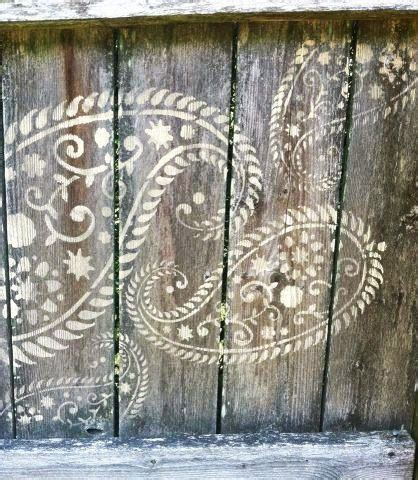 Get Bushs Paisley Look by 25 Best Paisley Stencil Ideas On Stencil