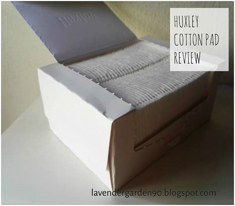 Huxley 5 Layer Cotton Pads carolyn s lavender garden review huxley 5 layer