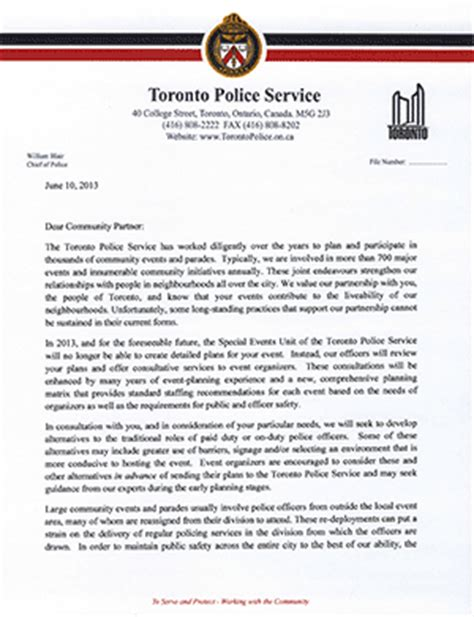 Reference Letter Of Toronto special prevention unit images frompo 1