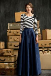 Latest trends of skirt maxi dresses 2016 2017 collection