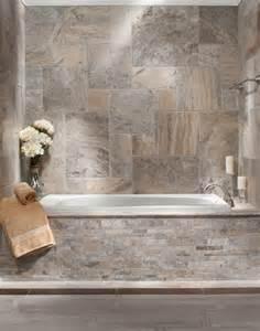 brushed travertine bath traditional bathroom by floor decor