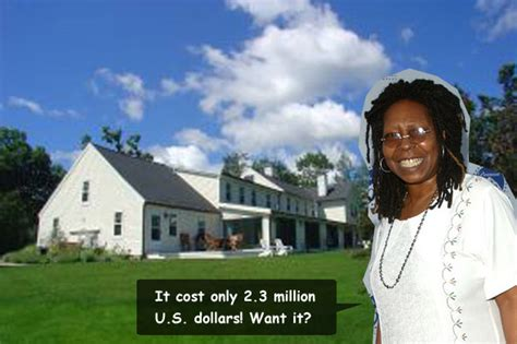 whoopi goldberg house home of whoopi goldberg in vermont celebrity cribs