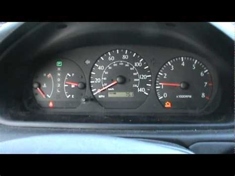 2000 toyota solara (camry) cold start w/ broken exhaust