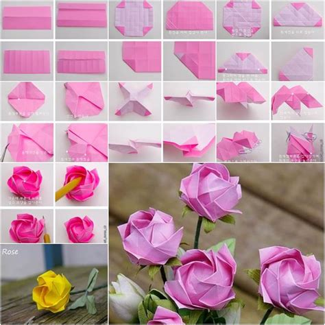tutorial origami rosa italiano best 25 origami rose ideas on pinterest origami rose