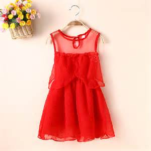 children wear chiffon dresses 2016 girls fahsion new