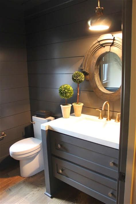 powder room bathroom wonderful shiplap bathrooms