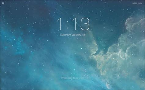 mimic  iphones lock screen  mac os    ios style screensaver mac tips gadget