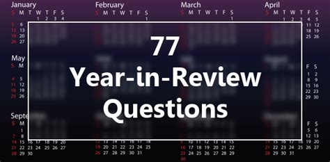 new year reviews 77 year in review questions to prepare for the new year