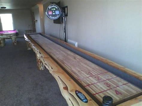shuffleboard table diy project s