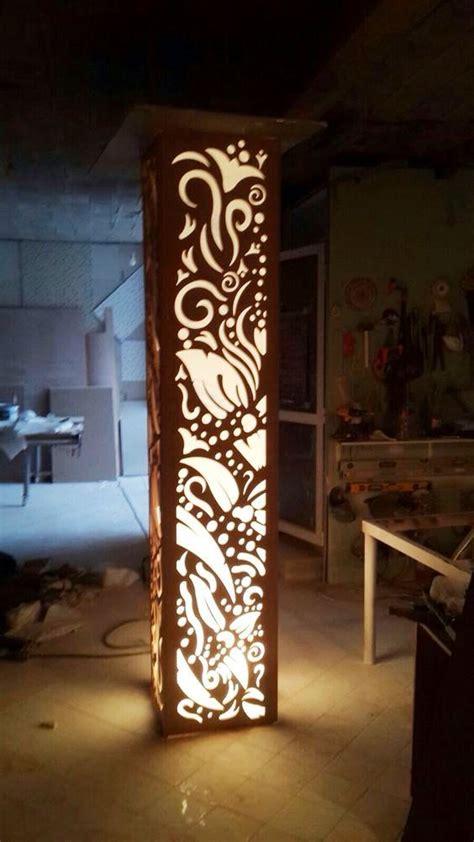luxury  cnc false ceiling design  led