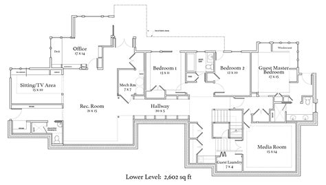 double master bedroom floor plans one level house plans with two master suites arts bedroom