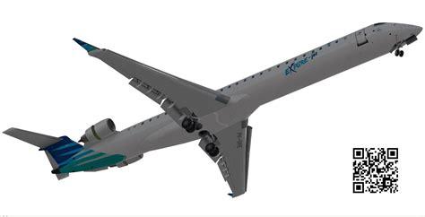 3d design engineering indonesia bombardier crj 1000 garuda indonesia 3d model game ready