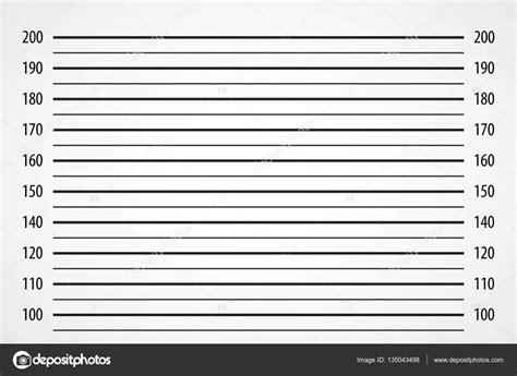 mugshot background lineup or mugshot background stock vector