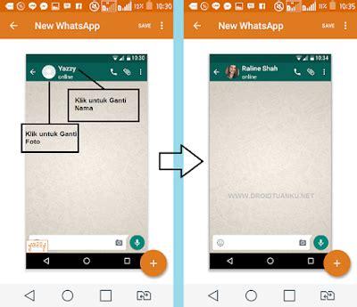 membuat instagram palsu cara membuat percakapan palsu fake chat pada aplikasi