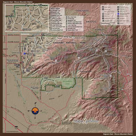 saguaro east saguaro national park mobile map arizona