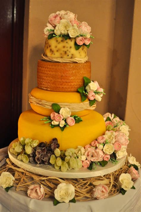Wedding Cakes Made Of Cheese by A Family Wedding And An Awards K Creations