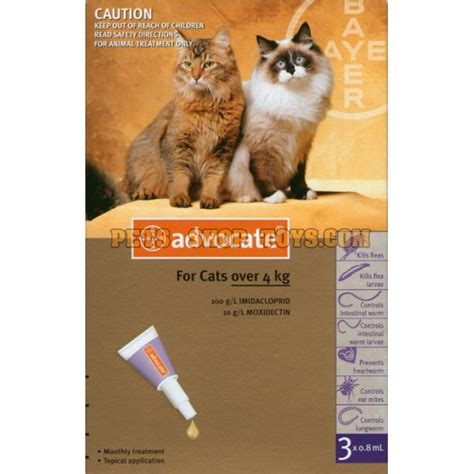 Advocate Cat Size S advocate for cat heatworm prevention