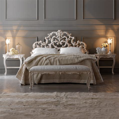 In The Bed by Ornate Rococo Reproduction Italian Storage Bed Juliettes