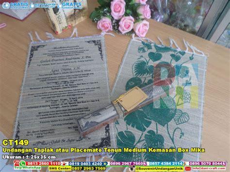 Taplak Meja Bahan Plastik Motif Biru Daun Taplak Meja Anti Air undangan taplak tenun mendong 25 215 35 kemas plastik pita souvenir pernikahan