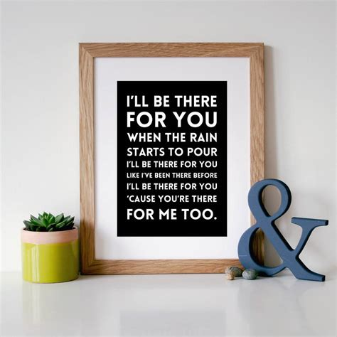 black coffee in bed lyrics i ll be there for you song lyric print by hope and love