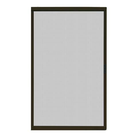 screen doors sliding 48 x 80 unique home designs 48 in x 80 in ultimate bronze metal