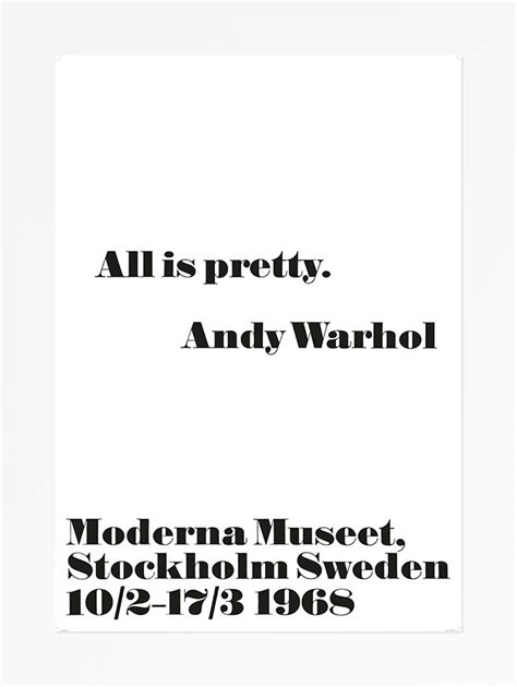 How To Design A Modern Kitchen by Moderna Museet Webshop Andy Warhol All Is Pretty