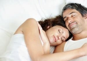 sexuality man and woman in bedroom the happy family life depends on the woman s sleep